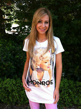BNWT RETRO MARILYN MONROE 1950s MOVIE ICONS T SHIRT/TOP/DRESS SIZE 8 10 12 14