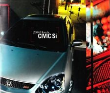 2004 04 Honda  Civic Si  Original sales brochure MINT
