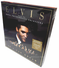 ELVIS PRESLEY LP 180g + CD BOX Set If I Can Dream + Poster w/ 3 Bonus Tracks RPO