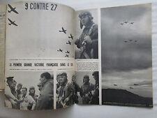 PARIS MATCH 1939 N° 73 WWII ESCADRILLE VICTOIRE AERIENNE DALADIER CURTISS