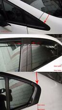 Carbon Fiber Front/B/Rear Pillar Covers 8pcs For Honda Civic 2012-2014 4 Doors