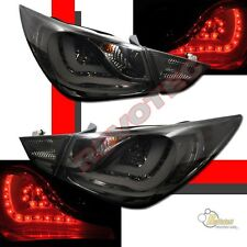 Smoke LED Tail Lights For Hyundai 2011 2012 Sonata SE GLS LIMITED RH +LH