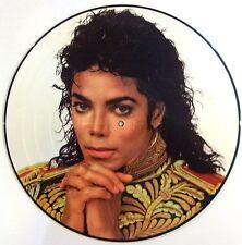MICHAEL JACKSON VINYL LP - KING OF POP - PICTURE DISC