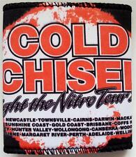 COLD CHISEL Lights of the Nitro Tour 2011 Stubbie Drink Can Holder Merchandise