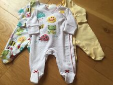 Next Baby Girls Sleepsuits First Size BNWT - Next Girls Newborn Babygrows