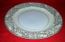 Edwin M Knowles Semi Vitreous China - Bread & Butter Plate - Gold Floral Design