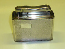 IBELO MONOPOL 935 SILVER AUTOMATIC TABLE LIGHTER - 1952 - MADE IN GERMANY
