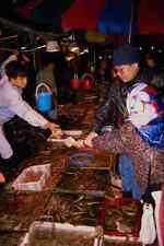 714083 Fish Market On Outer Hong Kong Island A4 Photo Print