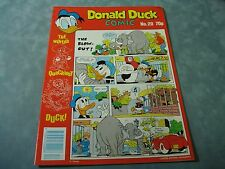 VINTAGE DISNEY'S DONALD DUCK NO.20  BY LONDON EDITIONS MAGAZINES VERY RARE COMIC