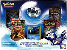 Pokemon Primal Kyogre EX Collection Box (4 Boosters, Figure, and Promo) NEW