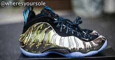 Nike Air Foamposite One All Star QS Mirror Chromeposite Foams 744306-001 Sz 10