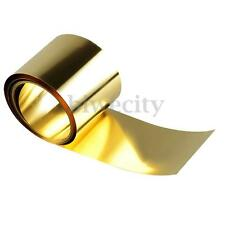 1pcs Brass Metal Thin Sheet Foil Belt 0.02 x 100 x 1000 mm Metalworking Supplies