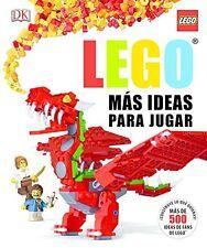 Lego Libro Mas Ideas Para Jugar Tapa Dura Más de 500 Ideas Todas las Edades