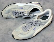 Puma Speeder Sneaker Athletic Shoes Purple Grey White Black Sz 8 Jogging Running