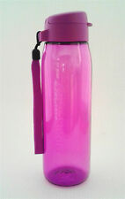 Tupperware Eco Water Bottle Flip Top 750ml Purple Free Shipping