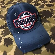 ****2017 NEW Navy Dsquared2 Baseball Cap***Bargain!