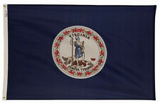 3x5 ft COMMONWEALTH OF VIRGINIA Old Dominion OFFICIAL STATE FLAG OUTDOOR NYLON