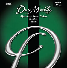 Dean Markley 2500 Nickel Steel Electric Guitar Strings 13-56 DT