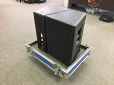 EAW JF260e (pair) in road case!