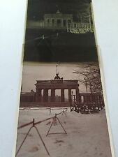 Vintage AIR FORCE Negative and Photo of BERLIN