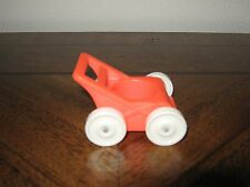 Vintage Fisher Price Little People Red Nursery Stroller