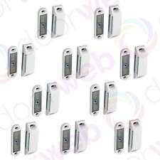 10 x MAGNETIC DOOR CATCH Cupboard Cabinet Kitchen Heavy Magnet Strong White 60mm