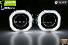 Yamaha Fazer V2 Headlight HID BI-XENON CREE LED Halo Ring Square Projector