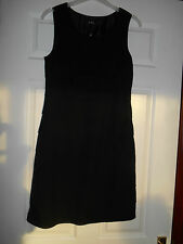 New size 8 black layered dress with bow