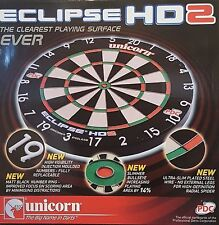 Brand New Unicorn Eclipse HD 2 TV Edition Bristle Board PDC Endorsed Dartboard
