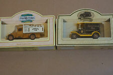 Rare Models of Promotion Brown Jordans Millers Truck and Black Ringtons Tea Van