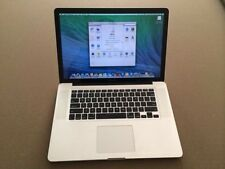 "15"" Apple MacBook Pro Unibody 2.4GHz Core i5 8GB RAM 500GB 7200RPM HD LOADED"