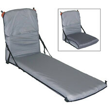 EXPED CHAIR KIT CAMPING HIKING PORTABLE LOUNGE CHAIR LIGHTWEIGHT GREY LW