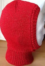 """SANTA BABY"" Luccicante Rosso Natale Balaclava, ideale per Fancy Dress & Productions"