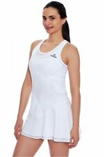 ADIDAS by STELLA McCARTNEY BARRICADE White TENNIS DRESS Size LARGE NWT