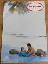 Erotik Aushangfoto MEIN GEIST WILL IMMER NUR DAS EINE Bo Derek #1