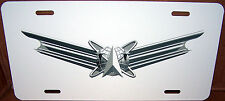 United States Air Force Space Command on an Aluminum License Plate - Made in USA
