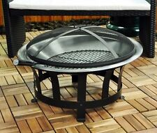 Outfire Fire Pit BBQ Outdoor Garden Patios Portable Grill with Mesh Lid