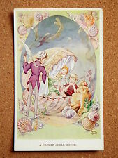 R&L Postcard: Valentine's Fairy Series Rene Cloke, 5107 Cockle Shell House