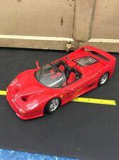 Maisto 1995 Ferrari F50 Red # 31823 1:18 Scale No Box SM 40F