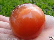 40mm Red Mexican Opal Sphere, Crystal Ball Gemstone +stand Beautiful RED EYE