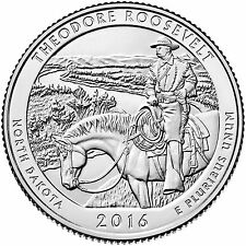 2016-S THEODORE ROOSEVELT NATIONAL PARK (ND) UNCIRCULATED QUARTER