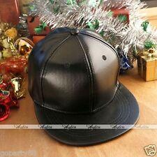 Uomo Fashion PU bboy con falda berretto da baseball regolabile snapback hip-hop