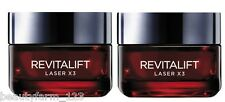 2x LOREAL REVITALIFT LASER X3  RENEW 50ml   NEU