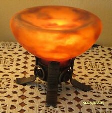 ADORABLE FRENCH ART DECO PERFUME BURNER - NIGHT LAMP 1925 - BY ROBJ PARIS