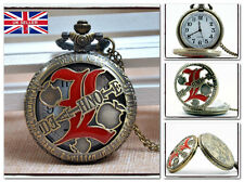 New Death Note L Necklace Pocket Watch Anime Cosplay *UK Seller*
