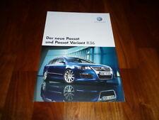 VW Passat R36 Prospekt 07/2007