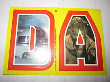 STAR WARS HERITAGE TOPPS STICKERS D & A CARD CHASE RARE MINT 2004 YELLOW N° 20