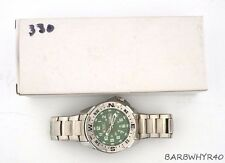 Military Royale Watch in Box w/ Green Dial b1