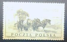 POLAND-STAMPS MNH Fi927 Sc829 Mi1072 -400 years of Polish Post Office,1958,clean