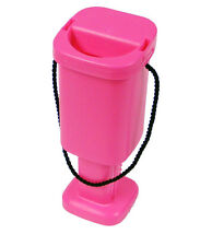 5 Charity Money Collection Boxes - Pink - Brand New Plastic Tins with Seals